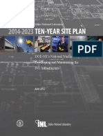 INL Ten Year Site Plan, 2014 2023 Ten Year Site Plan