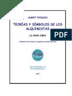 Albert Poisson - Teorías y Símbolos de los Alquimistas