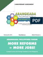 ARANGKADA Third Anniversary Assessment