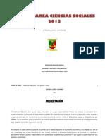 Plan de Area Ciencias Sociales 2013