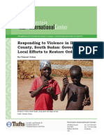 Responding to Violence in Ikotos County South Sudan