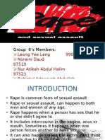 Presentation Group 5 EDIT ( Rape and Sexual)-Latest