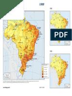 Brasil Densidade Demografica