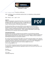 Nnoa Memorial Scholarship Application 2014
