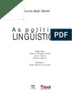 Calvet Politicas Linguisticas Prefacio