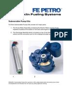 Submersible Pump Kits Pictureكتالوج غطاس بنزين