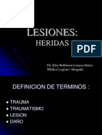 2014-HERIDAS . LESIONES