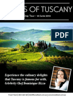 Travcel Team Tuscany Flyer Updated