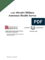Akrotiri Report