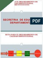 t1 Ruta Para El Mejoramiento Institucional (1)