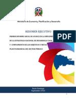 Resumen Ejecutivo 1er Informe Anual Avance Implementacion End 2030