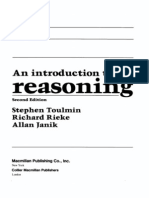 Toulmin - Introduction to Reasoning