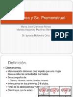 Dismenorrea y Sx
