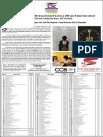2013 ARTA RCS Results
