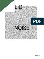 SOLID Noise Zine #001