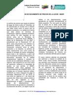 Boletin Coyuntura Sector Lacteo 072012
