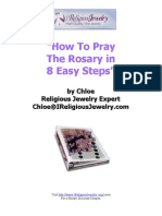 How To Pray The Rosary in 8 Easy Steps