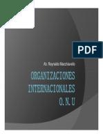 Derecho InternacionalORGANIZACIONES INTERNACIONALES Modo de Compatibilidad