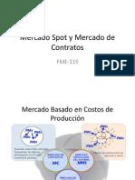 Mercado Spot y Mercado de Contratos