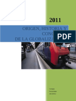 La Globalizacion - Trabajo Final