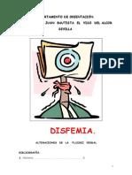 Disfemia - Alteraciones de La Fluidez Verbal - Libro