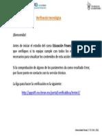 Verificación Tecnológica (Equipo)
