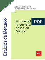 Mercado Eólico México