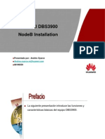 HUAWEI BSC6900 NodeB Installation