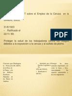 Presentacion convenios ambientales 2013
