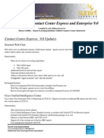 Cisco UCCE Contact Center 9.0 New Features