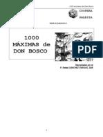 1000 Maximas de Don Bosco