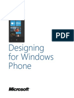 Windows Phone Design