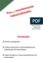 Países recentemente industrializados