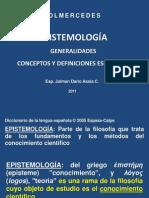 epistemologageneralidadesydefinicionesesenciales-110510212531-phpapp01