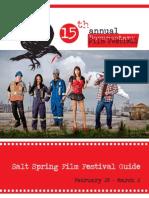 Salt Spring Film Festival 2014 Guide