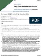 A v Insurer [2002] PrivCmrA 1