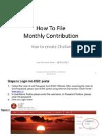 esi contribution instruction