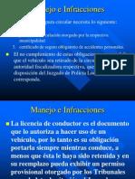 Modulo 6 a - Manejo e Infracciones