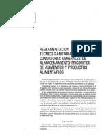 RD 168-85 RTS Almacenam Frig