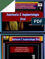 Anatomía e Implantologia oral