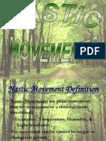Plants Nastic Movements
