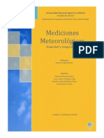 Mediciones meteorologicas