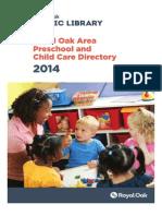 Ropl 2014 Preschool Directory