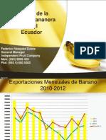 Fe3derico Vasquez, Presentacion en El Gdr Sobre Banano