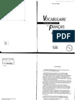 Vocabulaire Progressive Du Francais