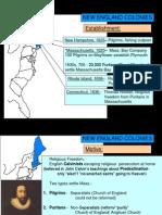 13 colonies comparison