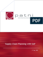 Supply Chain Planning With SAP