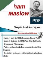 Abraham Maslow. Pedagogia II. Sergio a. Lopez