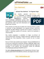 014 El Software Para Multinivel