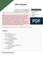 GUID Partition Table (Español) - ArchWiki